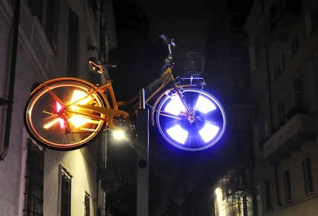 Luci in bici